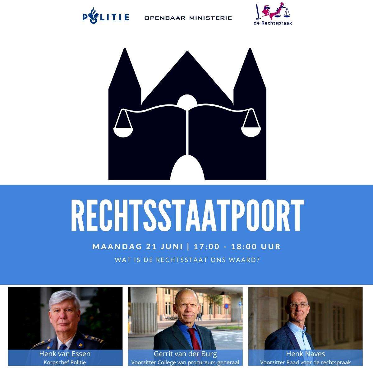 Flyer Rechsstaatpoort